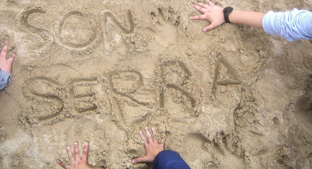 CEIPIEEM-SonSerra puesto en la arena